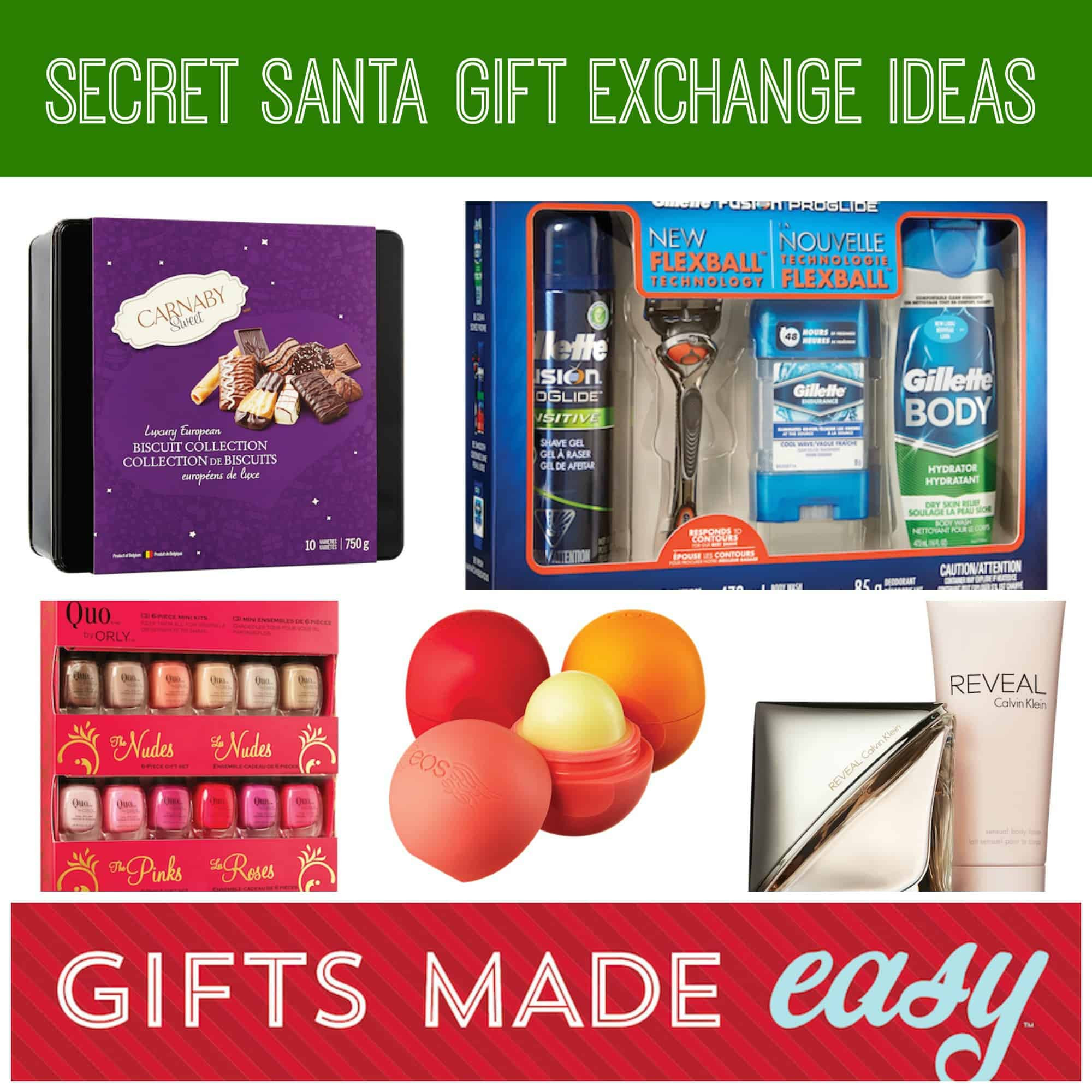 Best ideas about Best Gift Exchange Ideas . Save or Pin Secret Santa Gift Exchange Ideas GIFTS MADE EASY Now.