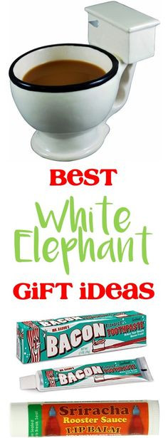 Best ideas about Best Gift Exchange Ideas . Save or Pin White elephant White elephant t and Elephant ts on Now.