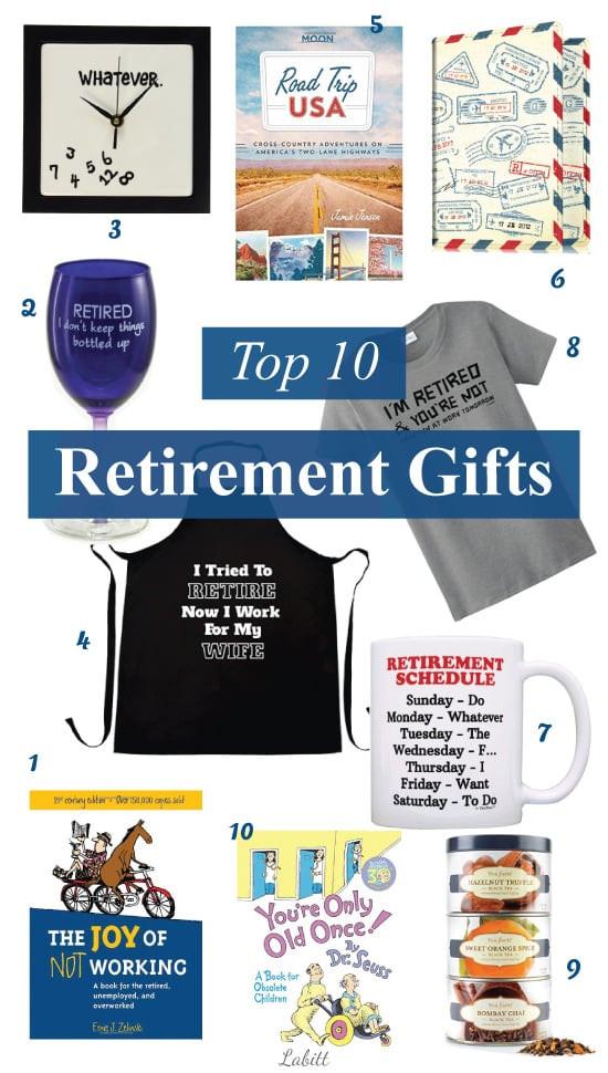 Best ideas about Best Retirement Gift Ideas . Save or Pin Top 10 Retirement Gift Ideas Metropolitan Girls Now.
