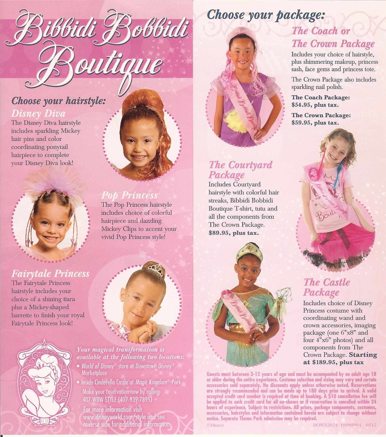 Best ideas about Bibbidi Bobbidi Boutique Hairstyles 2019 . Save or Pin Bibbidi Bobbidi Boutique Brochure Now.