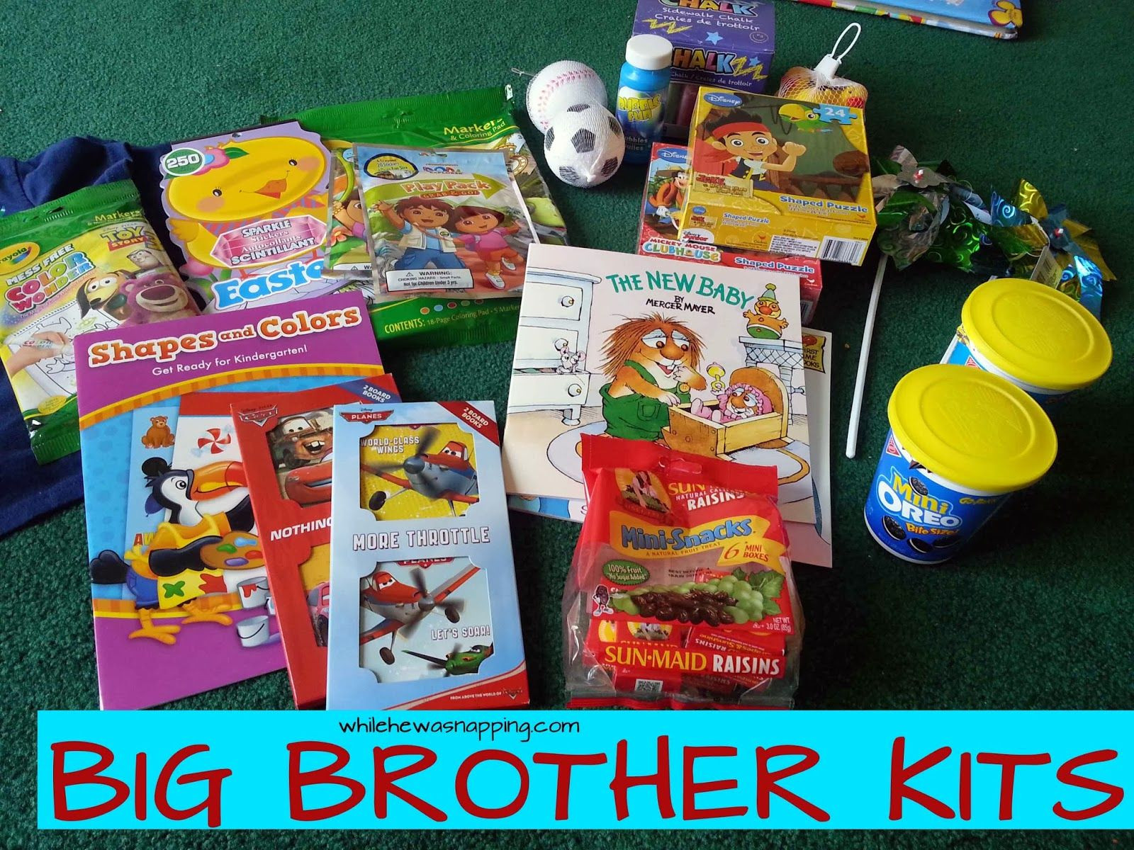 Best ideas about Big Brother Gift Ideas From New Baby . Save or Pin Big Sibling Kits From the Baby Now.