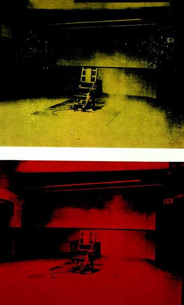 Best ideas about Big Electric Chair . Save or Pin Electric Chair 1964 Andy Warhol WikiArt Now.