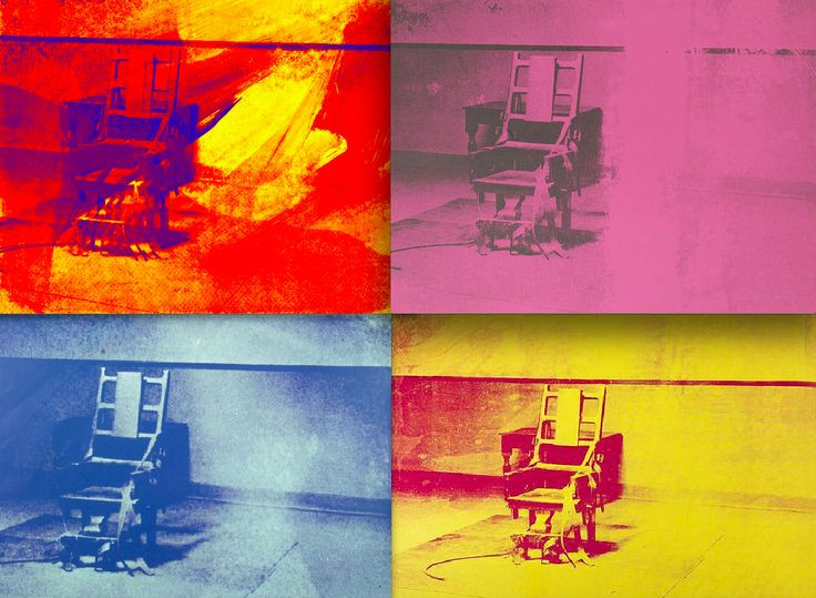 Best ideas about Big Electric Chair . Save or Pin fuckinpolitics Big Electric Chair Andy Warhol c 1968 1971 Now.