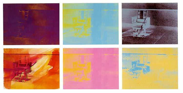 Best ideas about Big Electric Chair . Save or Pin Electric Chair 1971 Andy Warhol WikiArt Now.