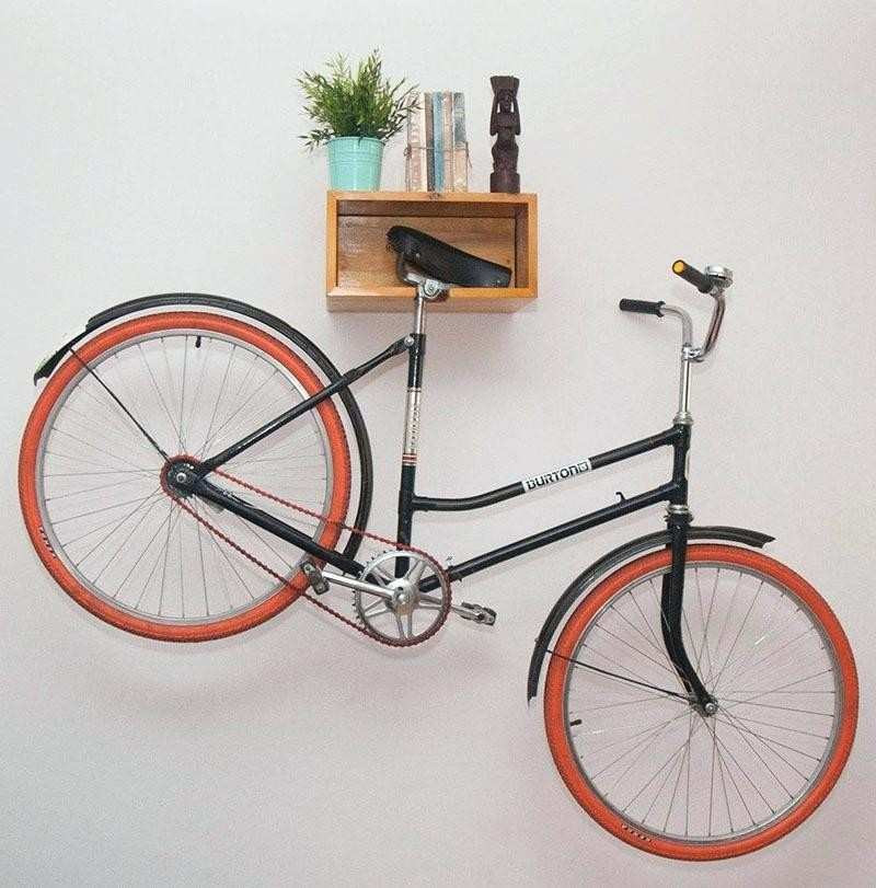 Best ideas about Bike Wall Mount DIY . Save or Pin Diy Bike Pedal Wall Mount Home Design Now.