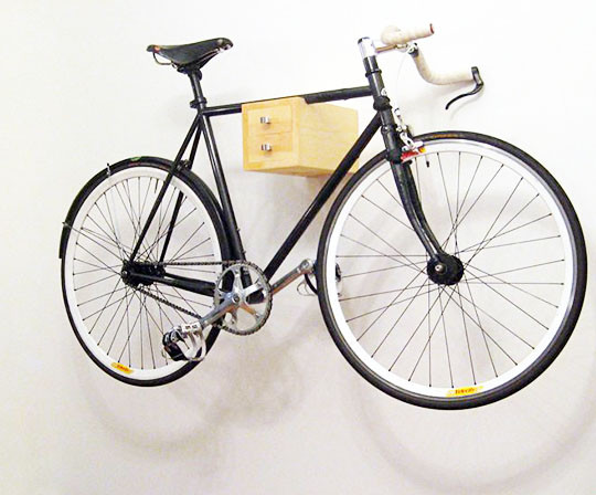 Best ideas about Bike Wall Mount DIY . Save or Pin Cabin Plan Small Diy Wooden Wall Bike Rack Wood Quotes Now.