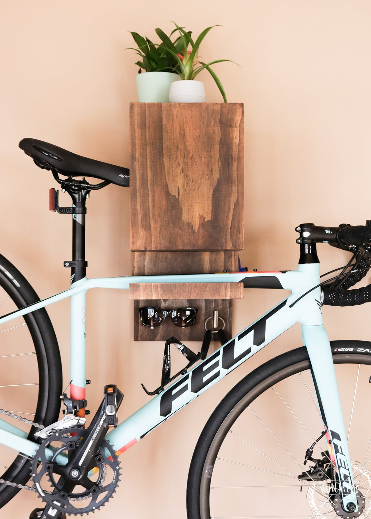 Best ideas about Bike Wall Mount DIY . Save or Pin DIY Wall Mounted Bike Rack DIY Huntress Now.