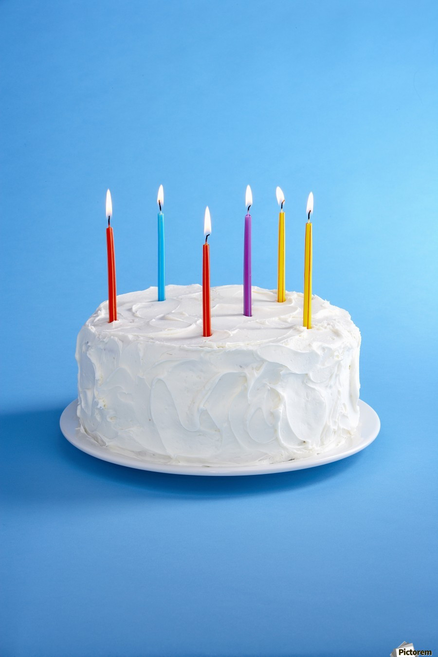 Best ideas about Birthday Cake Candles . Save or Pin Birthday Cake With Candles PacificStock Canvas Now.