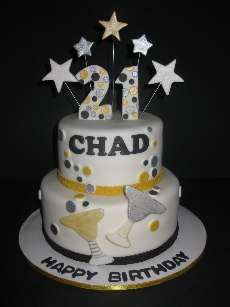 Best ideas about Birthday Cake Designs For Him . Save or Pin 21st birthday sheet cake ideas Google Search Now.