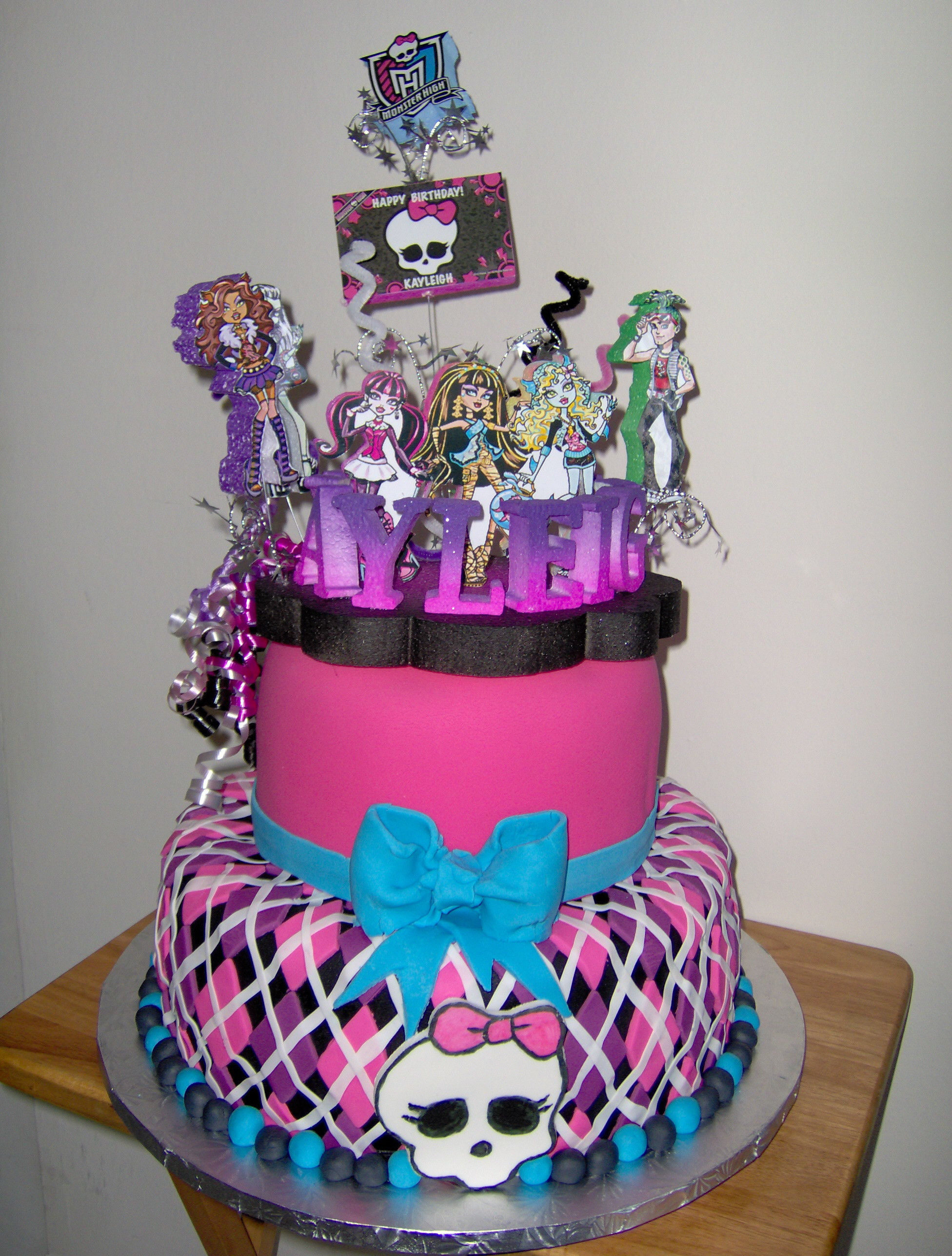 Best ideas about Birthday Cake Designs For Him . Save or Pin 25 Monster High Cake Ideas and Designs EchoMon Now.