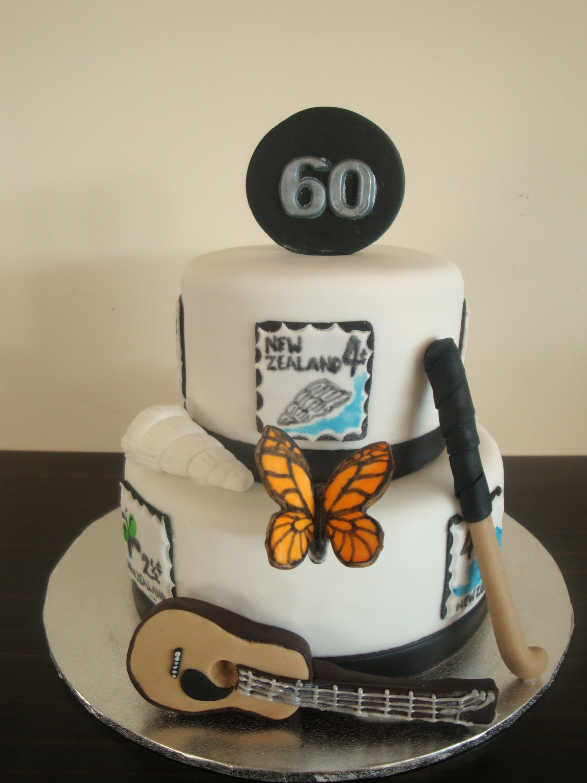 Best ideas about Birthday Cake Designs For Him . Save or Pin Mrs Woolley s Cakes 60th birthday cake Now.