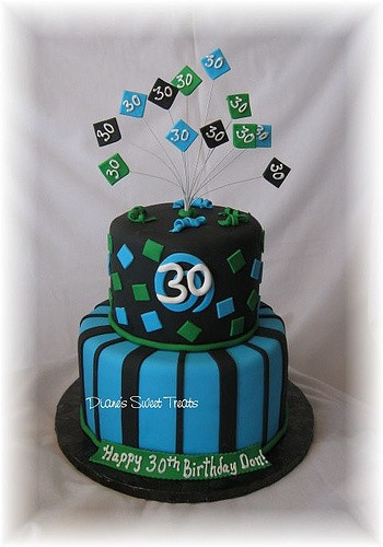 Best ideas about Birthday Cake Designs For Him . Save or Pin 134 best images about Cakes 30th Birthday on Pinterest Now.