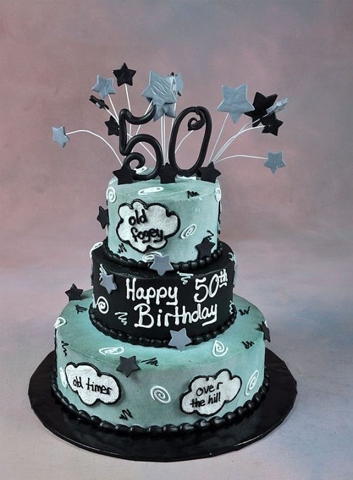 Best ideas about Birthday Cake Designs For Him . Save or Pin 34 Unique 50th Birthday Cake Ideas with My Happy Now.