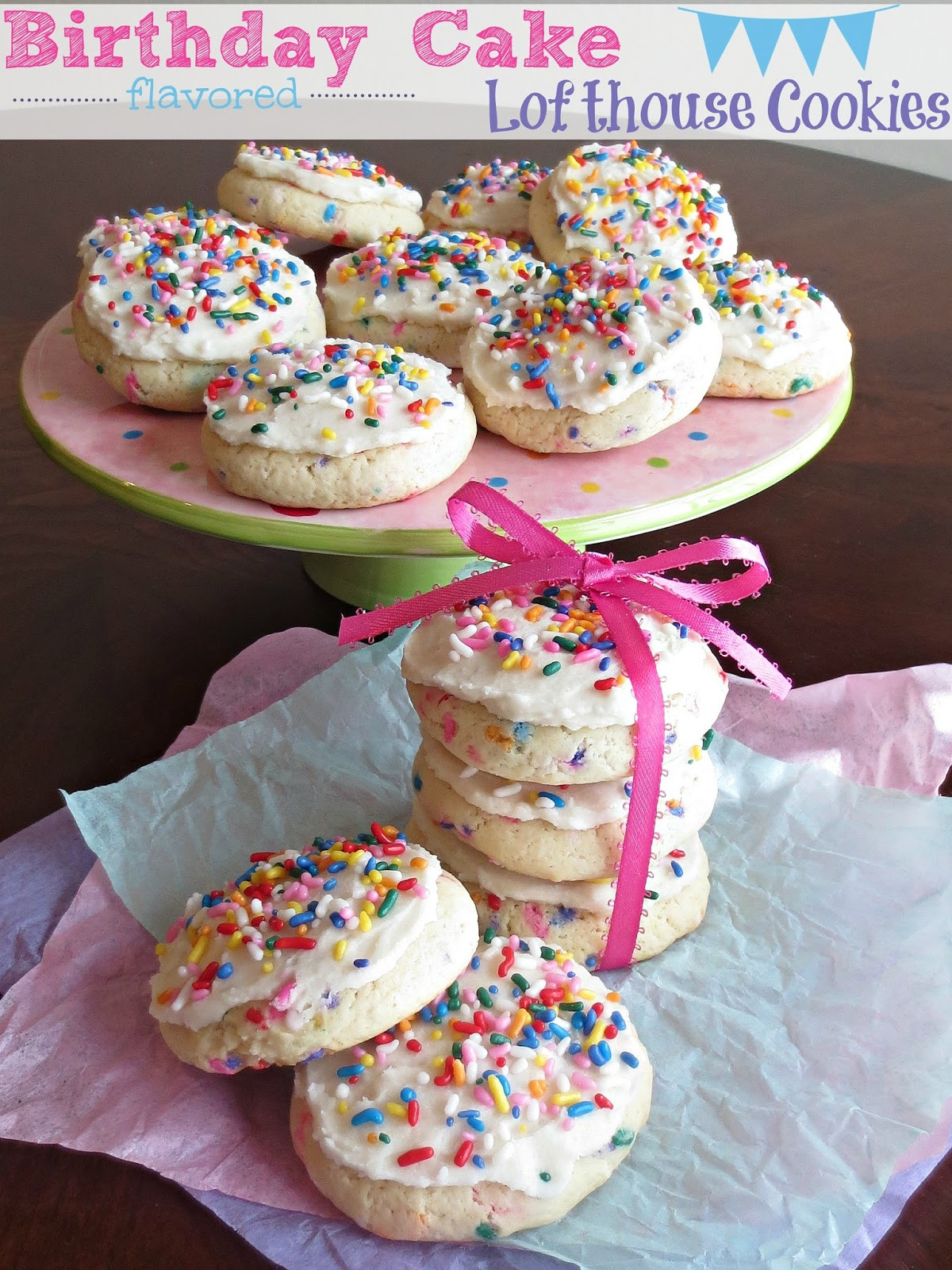 Best ideas about Birthday Cake Flavor . Save or Pin Kaitlin in the Kitchen Birthday Cake flavored Lofthouse Now.