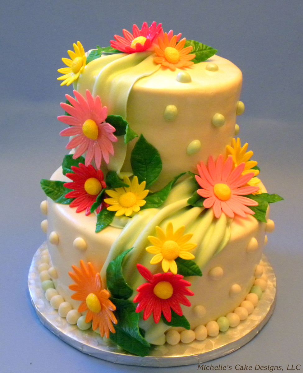 Best ideas about Birthday Cake Flowers . Save or Pin Flower Cake Cake Decorating munity Cakes We Bake Now.