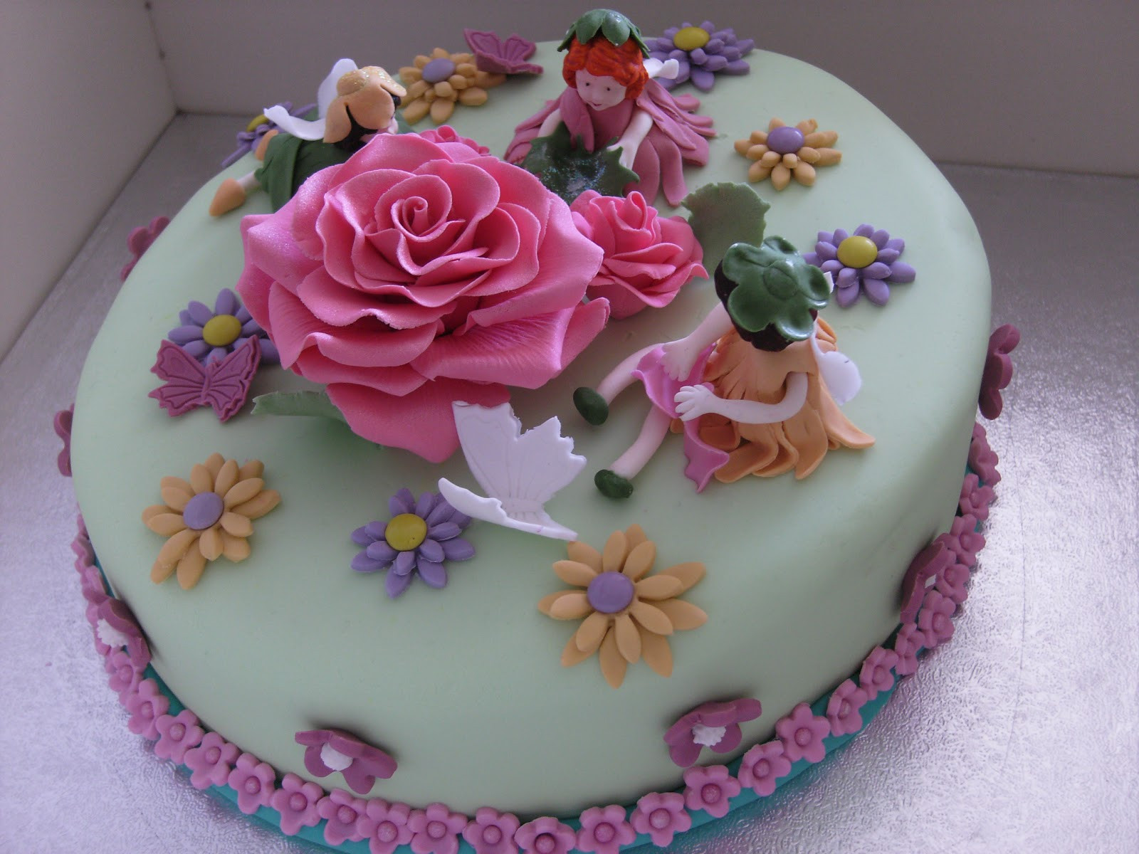 Best ideas about Birthday Cake Flowers . Save or Pin Flower Fairy Birthday Cake Party and Ma ra Cake Recipe Now.