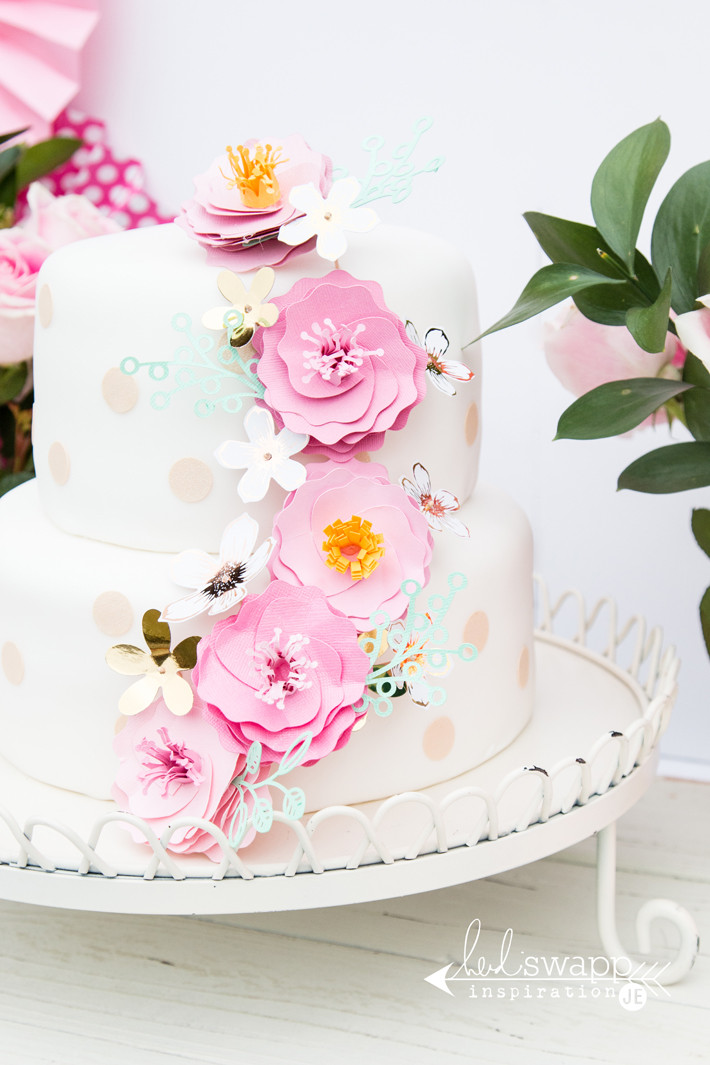 Best ideas about Birthday Cake Flowers . Save or Pin Heidi Swapp Birthday Cake Flowers Create ten Now.