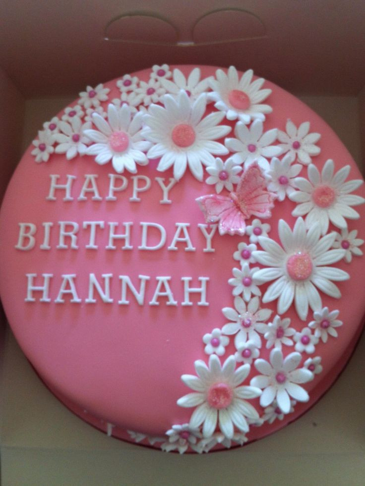 Best ideas about Birthday Cake Flowers . Save or Pin This Pretty pink flower birthday cake is what Zoey wants Now.
