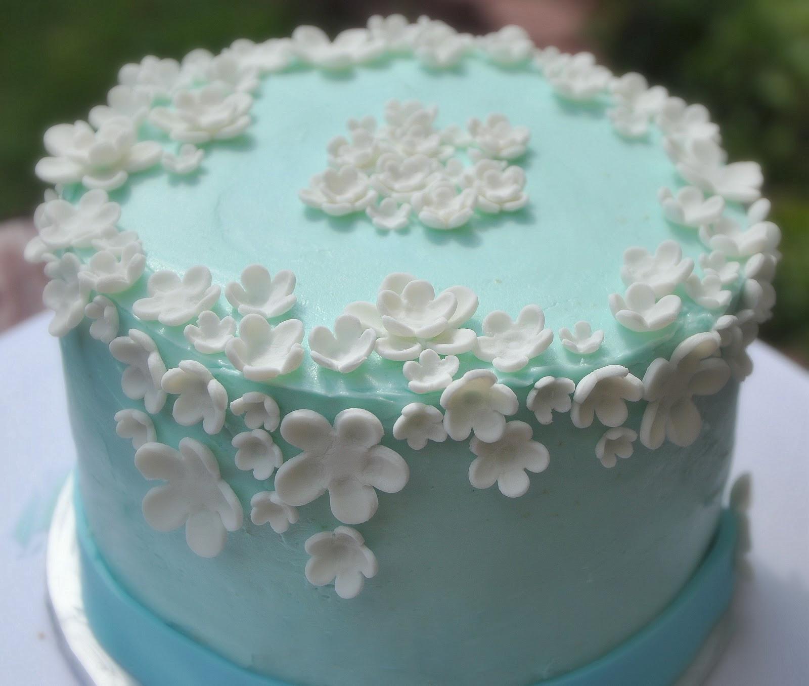 Best ideas about Birthday Cake Flowers . Save or Pin TurtleCraftyGirl Flower Birthday Cake Now.