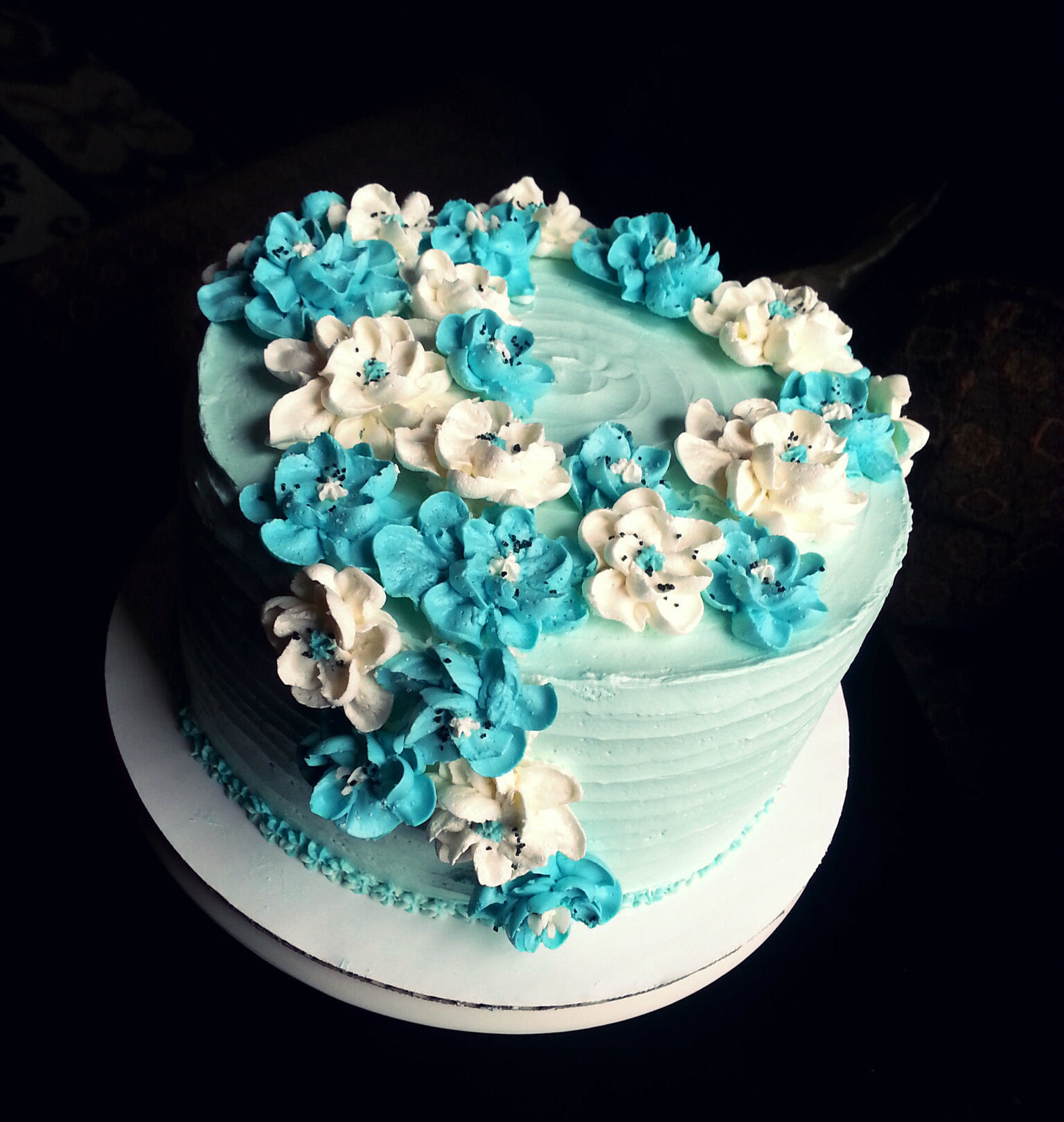 Best ideas about Birthday Cake Flowers . Save or Pin buttercream Now.