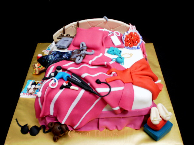 Best ideas about Birthday Cake For 12 Years Old Girl . Save or Pin domestic goddess July 2012 Now.