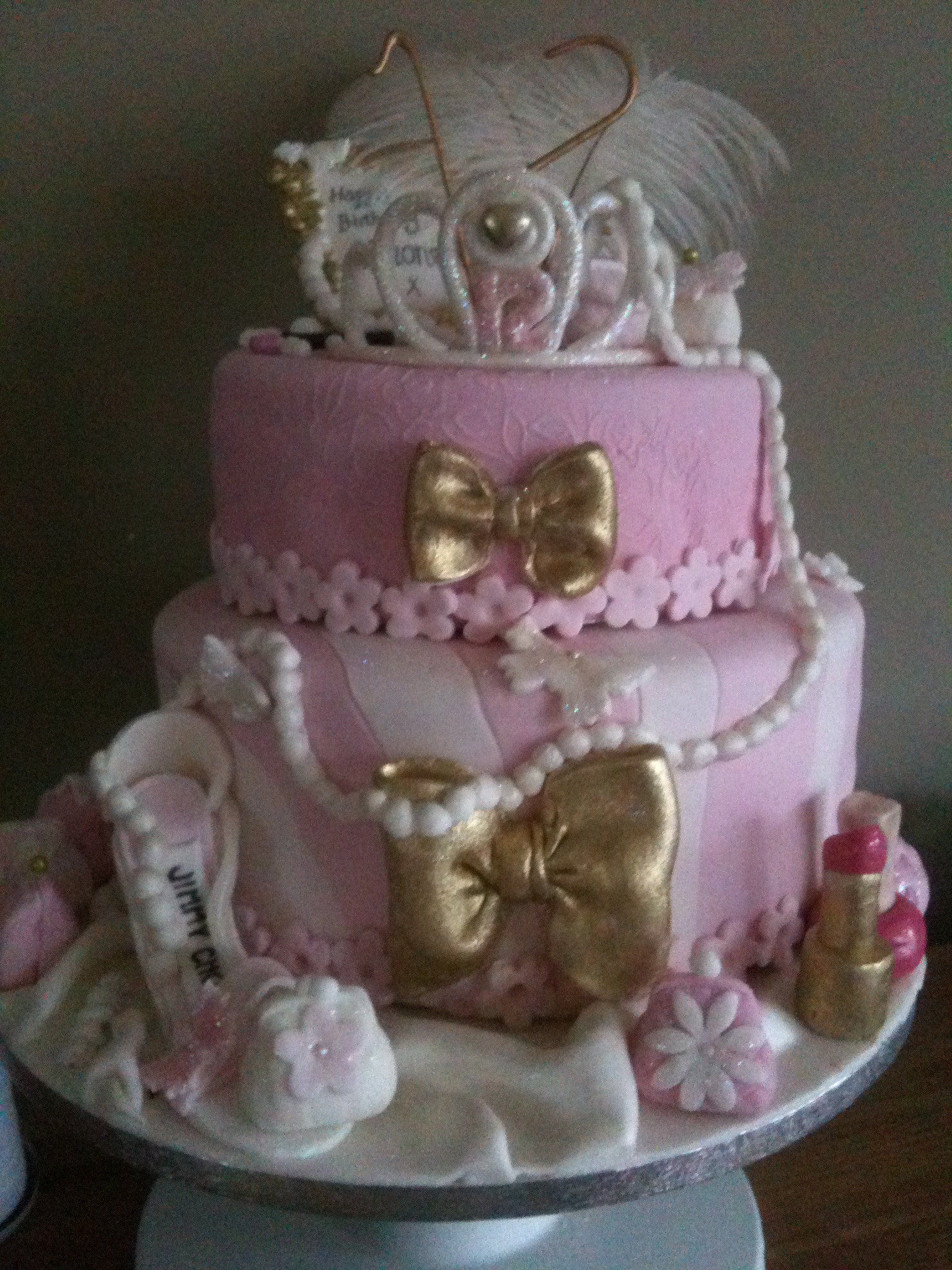 Best ideas about Birthday Cake For 12 Years Old Girl . Save or Pin Girly pink theatrical cake for a 12 year old Now.