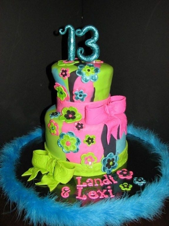 Best ideas about Birthday Cake For 13 Year Old Boy . Save or Pin cake designs for a 13 year old girl Now.