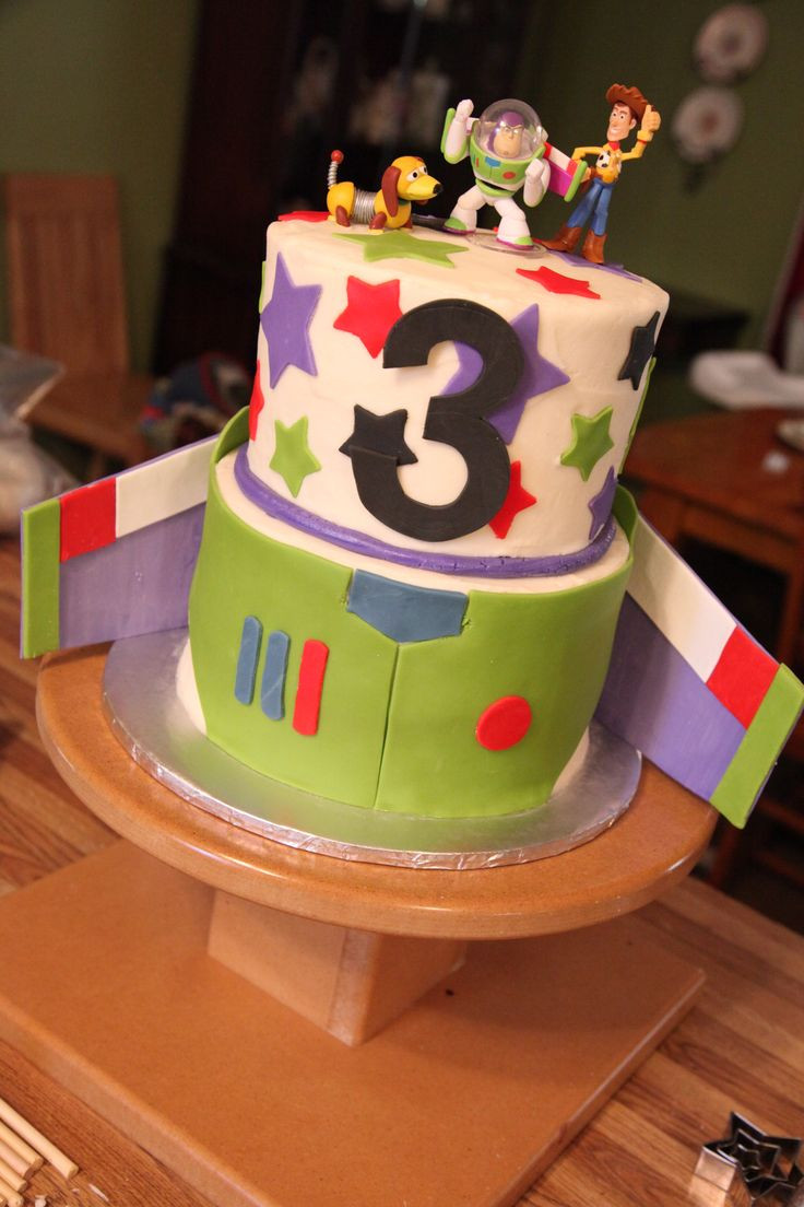 Best ideas about Birthday Cake For 3 Year Old Boy . Save or Pin 103 best images about Toy Story Cakes Cookies and ideas Now.
