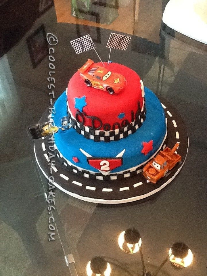 Best ideas about Birthday Cake For 3 Year Old Boy . Save or Pin Coolest Cars 2 Cake for a 2 Year Old Boy Now.