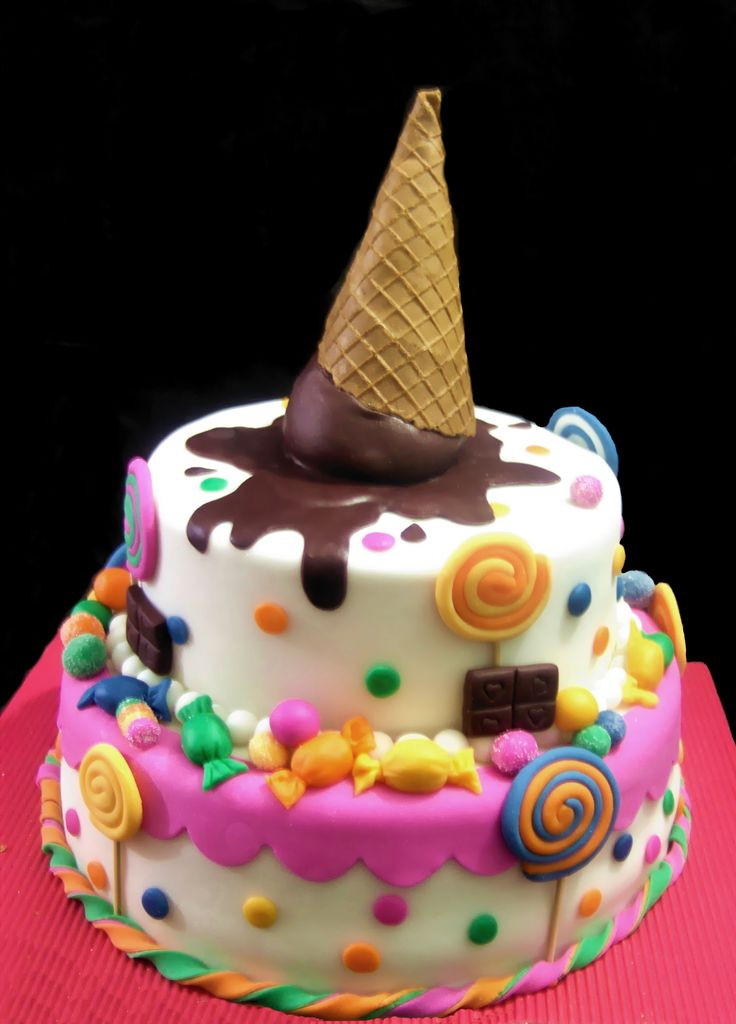 Best ideas about Birthday Cake For Girls . Save or Pin super cute for a little girl s cake cakes Now.