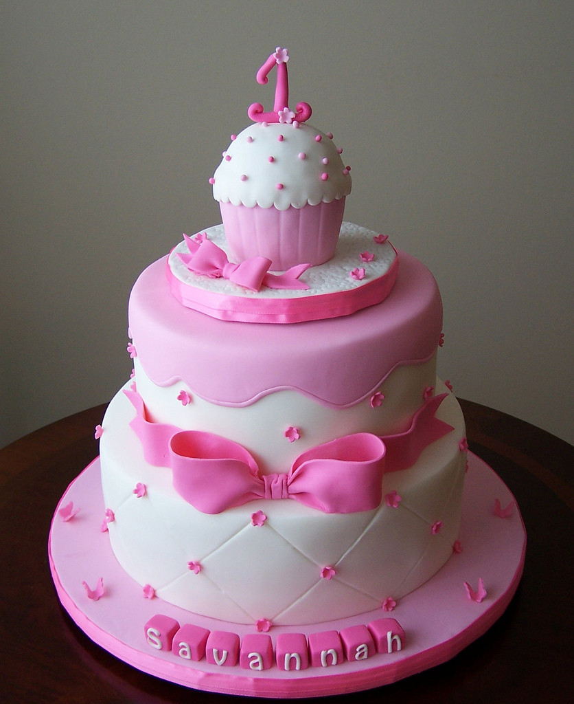 Best ideas about Birthday Cake For Girls . Save or Pin Fabulous 1st Birthday Cake For Baby Girls Now.