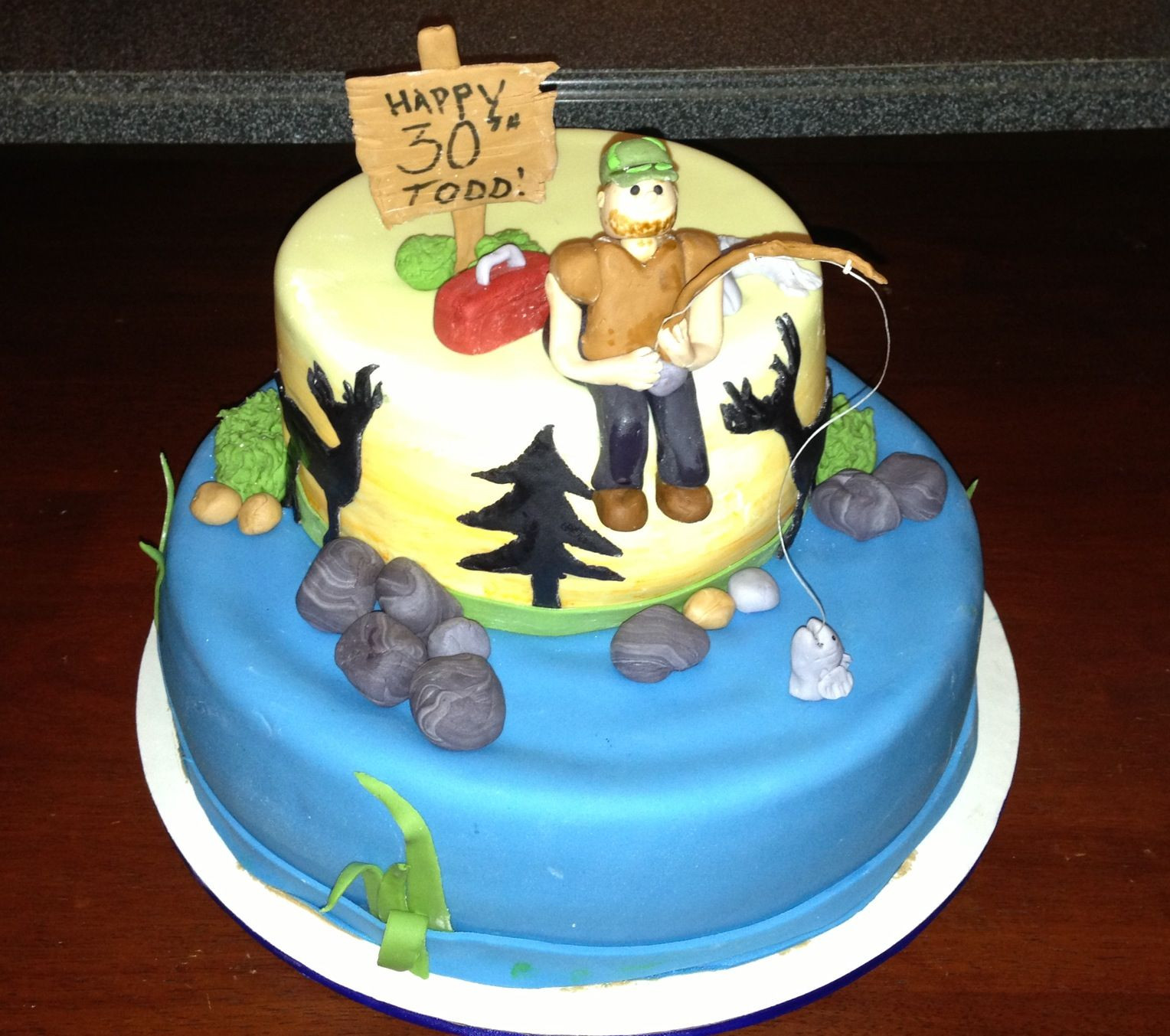 Best ideas about Birthday Cake For Husband . Save or Pin My husband s 30th Birthday cake Food Now.