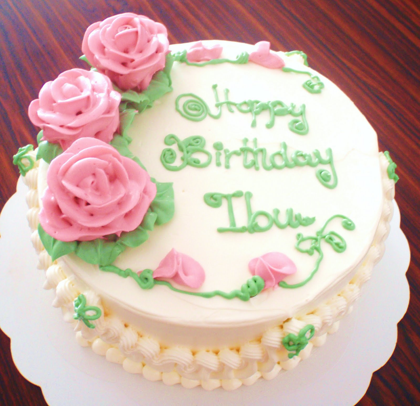 Best ideas about Birthday Cake For Mother . Save or Pin By Jalia Mother s Day & Birthday Cake for Ibu Now.