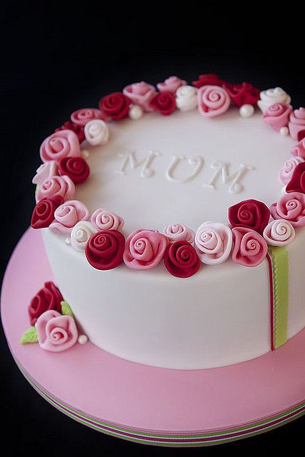 Best ideas about Birthday Cake For Mother . Save or Pin Ring O Roses in 2019 Cakes Now.