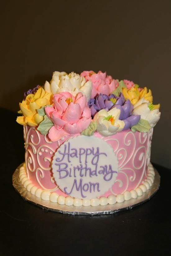Best ideas about Birthday Cake For Mother . Save or Pin Happy Birthday Cake for Now.