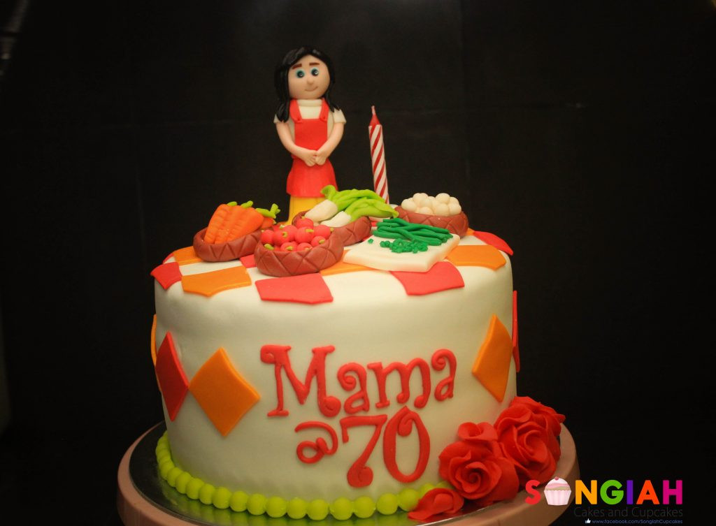 Best ideas about Birthday Cake For Mother . Save or Pin Songiah Mom 70 Birthday Cake Now.