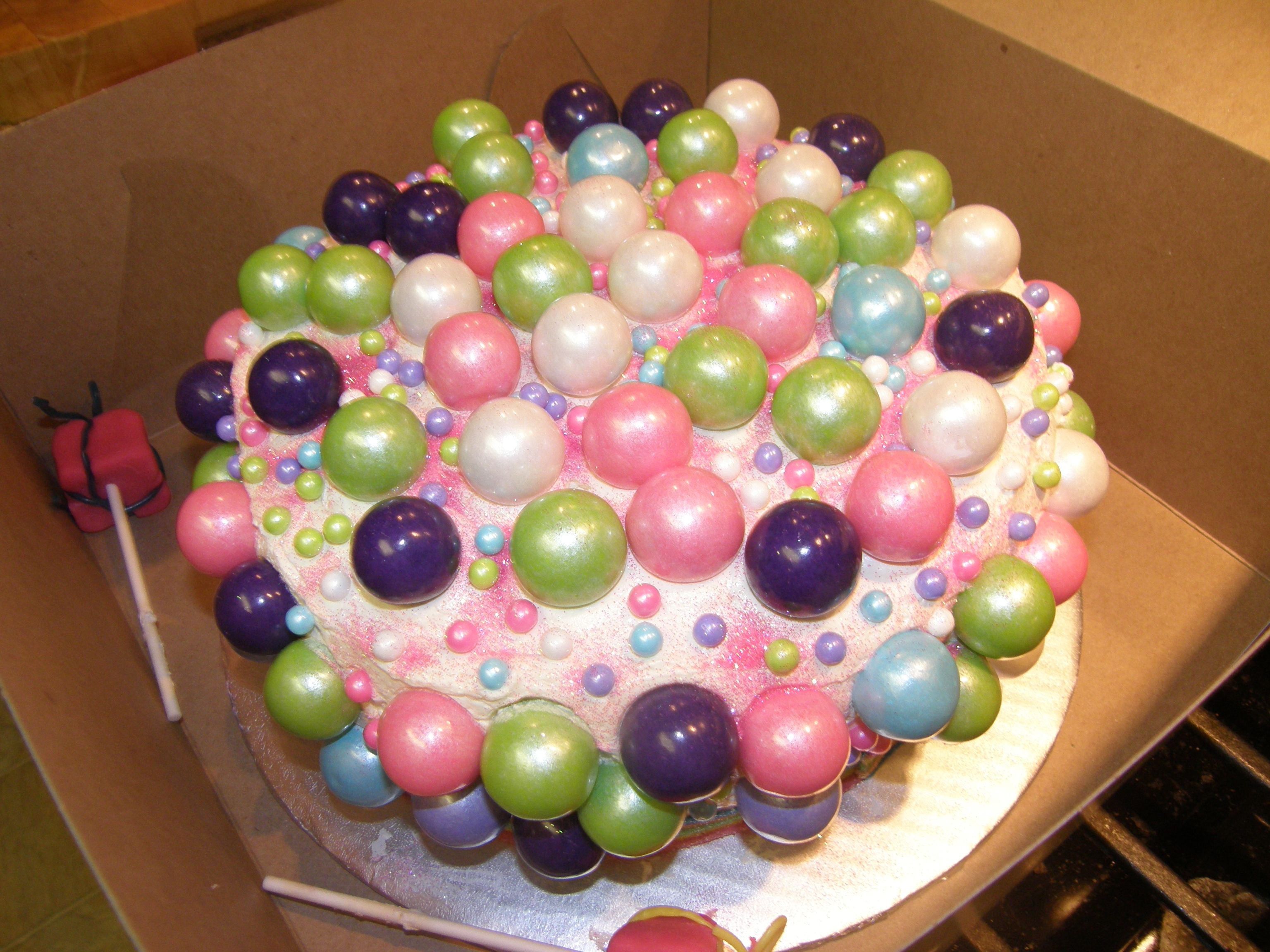 Best ideas about Birthday Cake Gum . Save or Pin Lauren s bubble gum birthday cake a candy lover s dream Now.