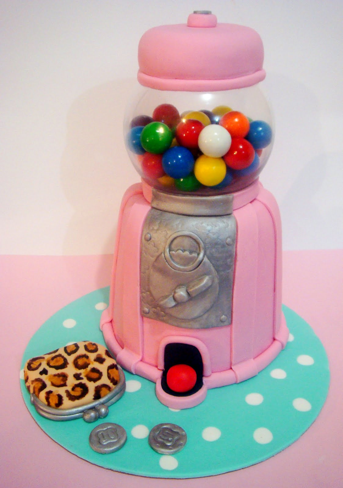 Best ideas about Birthday Cake Gum . Save or Pin butter hearts sugar Gumball Machine Cake Now.