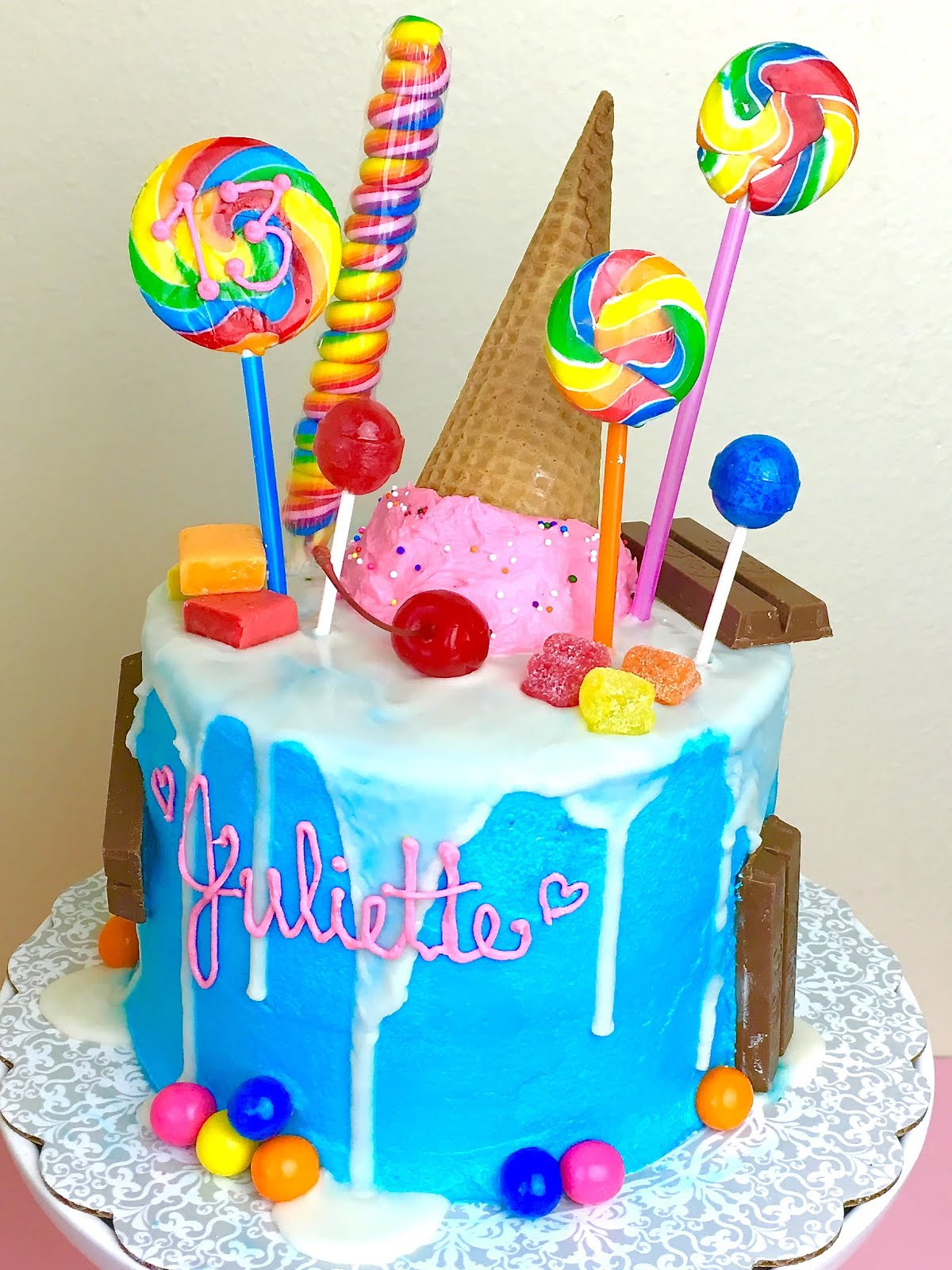 Best ideas about Birthday Cake Gum . Save or Pin Candy Cake The Lindsay Ann Now.