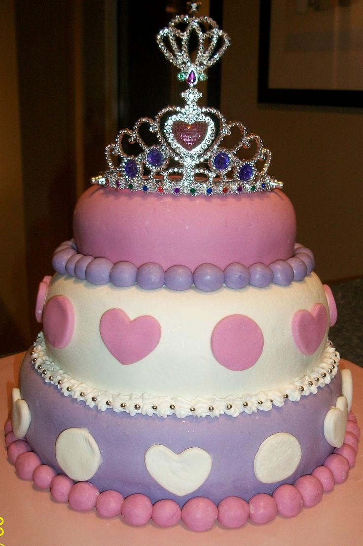 Best ideas about Birthday Cake Ideas For Girls . Save or Pin 3 year old girls birthday cake pictures princess cakes Now.