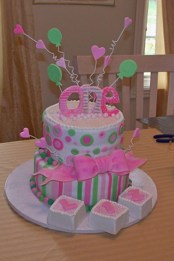Best ideas about Birthday Cake Ideas For Girls . Save or Pin Picnic Party First Birthday Cakes Now.