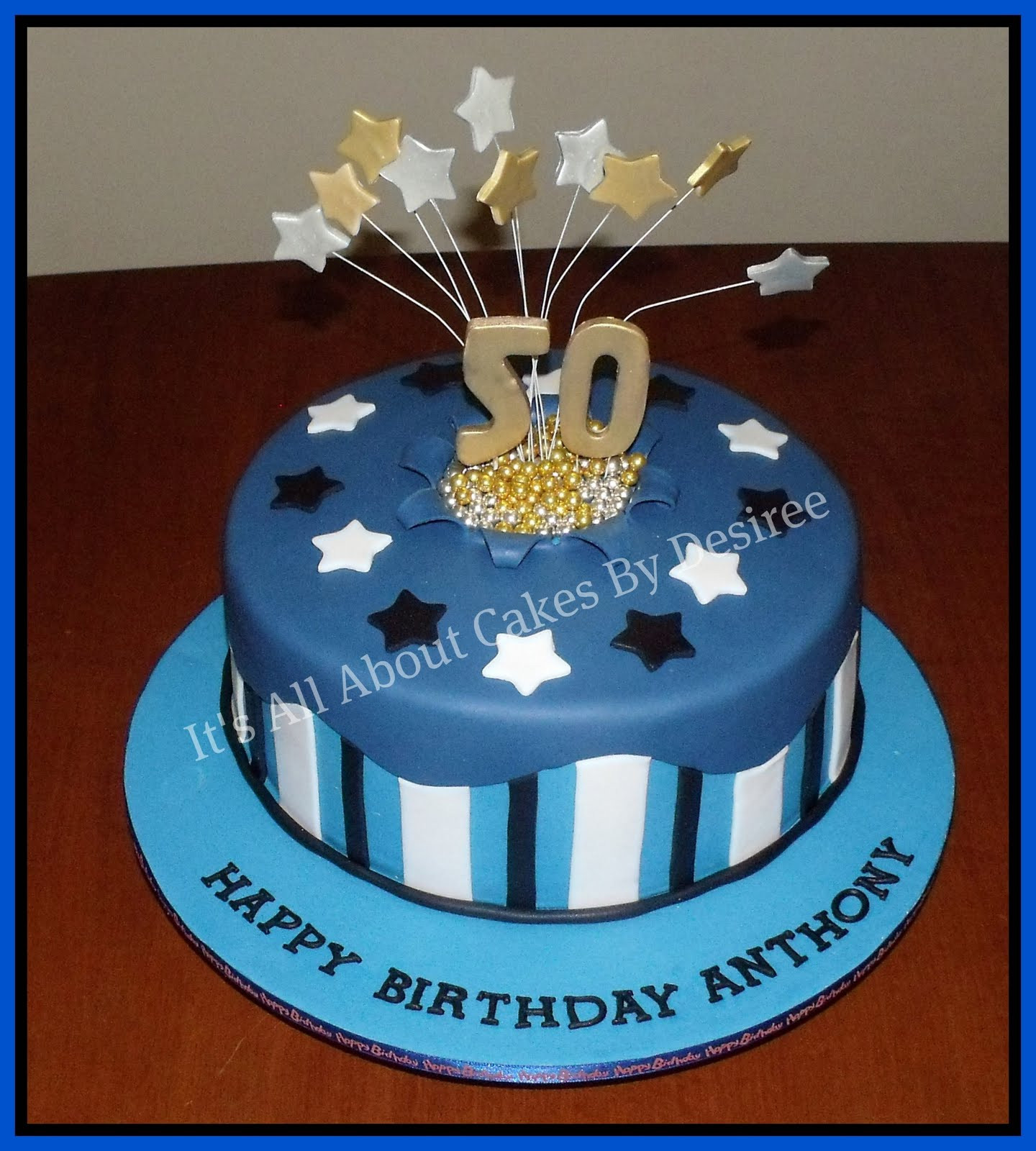 Best ideas about Birthday Cake Images For Man . Save or Pin 50th birthday cakes on Pinterest Now.