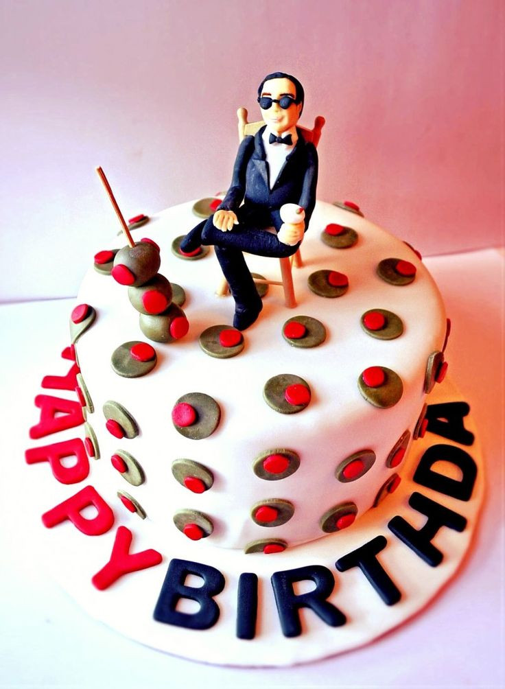 Best ideas about Birthday Cake Images For Man . Save or Pin Mad Men cake mid century modern cake mad men birthday Now.