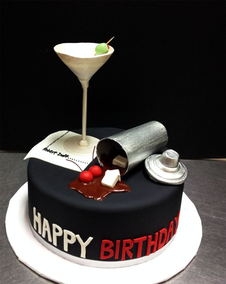 Best ideas about Birthday Cake Images For Man . Save or Pin mad men cake Boys men s birthday cakes Now.