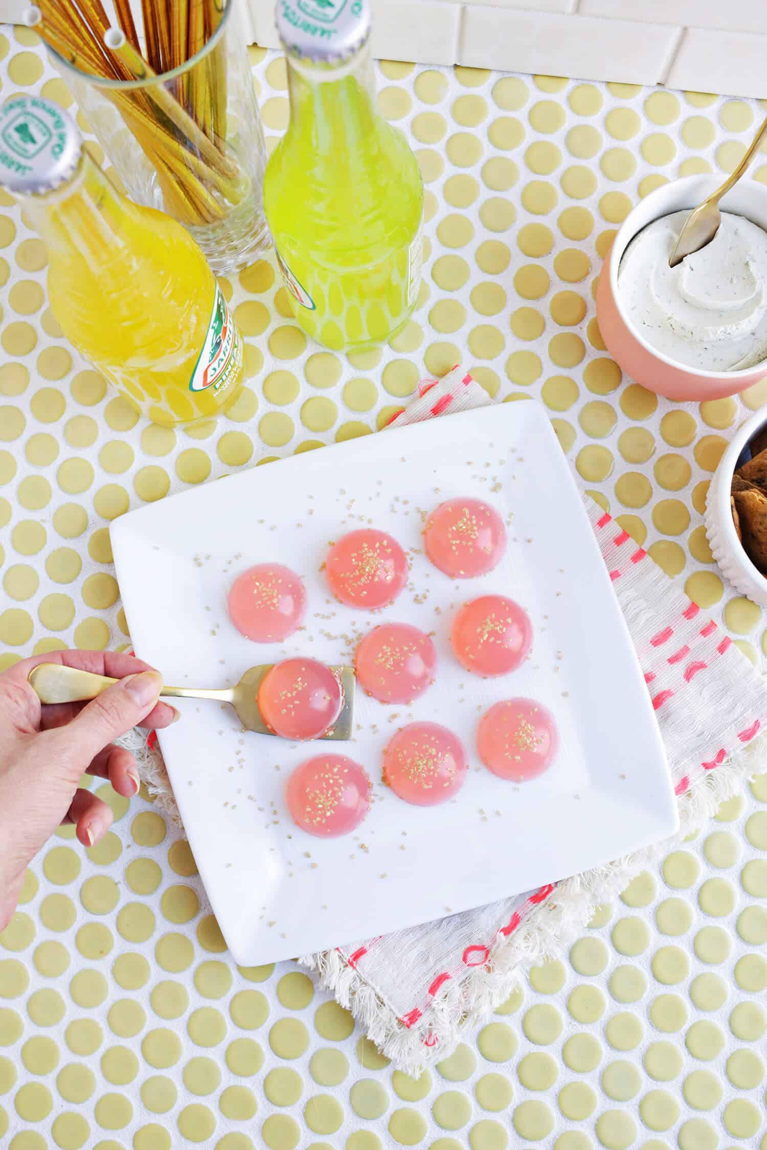 Best ideas about Birthday Cake Jello Shots . Save or Pin Birthday Cake Jello Shots A Beautiful Mess Now.