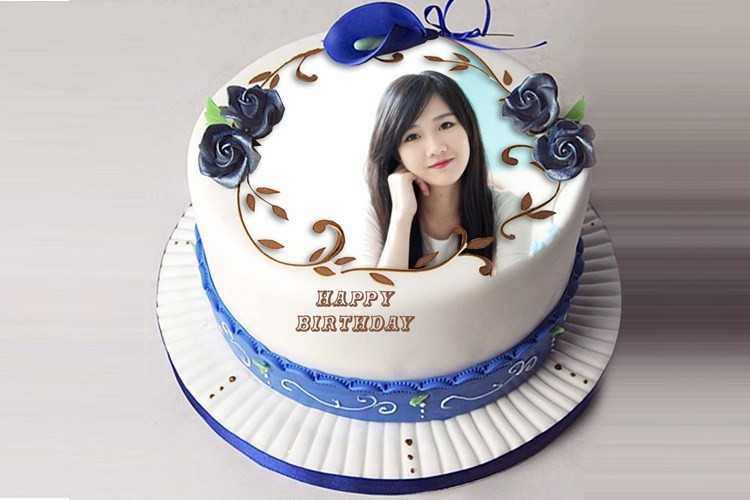Best ideas about Birthday Cake Photo Frame . Save or Pin funia 2017 New Frames Happy Birthday Now.