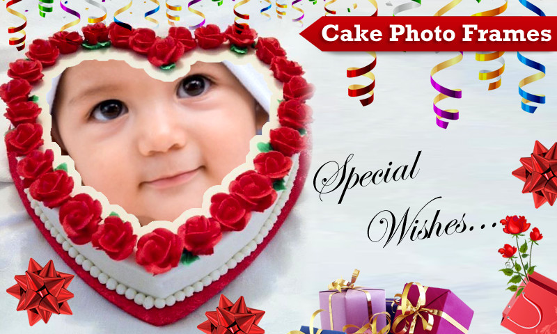 Best ideas about Birthday Cake Photo Frame . Save or Pin Cake Frames Android Apps on Google Play Now.