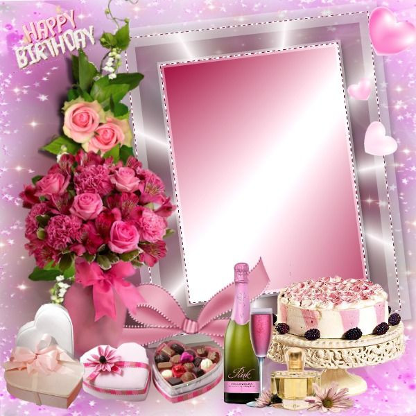 Best ideas about Birthday Cake Photo Frame . Save or Pin happy birthday Frames Pinterest Now.