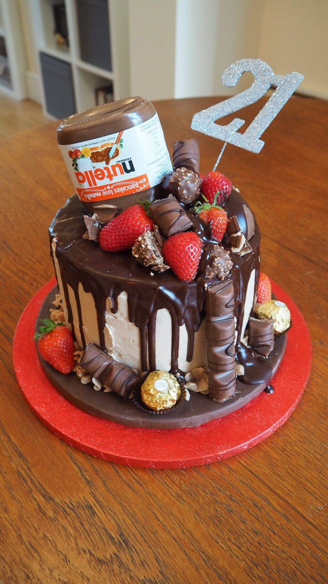 Best ideas about Birthday Cake Photo . Save or Pin Nutella Chocolate Drip Cake Now.