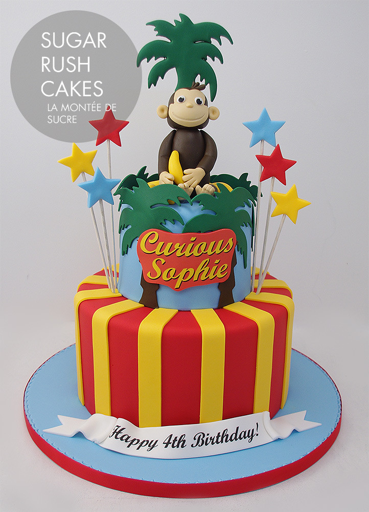 Best ideas about Birthday Cake Photo . Save or Pin Curious George Cake Now.